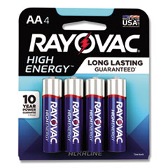 Rayovac®-BATTERY,ALK,AA,4/PACK
