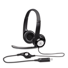 H390 USB Headset w/Noise-Canceling Microphone