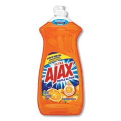 Ajax® DETERGENT DISH AJAX OR Dish Detergent, Liquid, Antibacterial, Orange, 52 Oz, Bottle