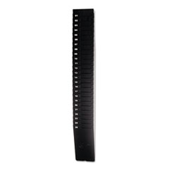 Lathem Time Expandable Time Card Rack, 25-Pocket, Holds Nine Inch Cards, Black Plastic