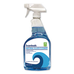 Boardwalk® CLEANER GLASS 32OZ GN Natural Glass Cleaner, 32 Oz Trigger Bottle