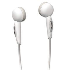 Maxell EB125 Digital Stereo Binaural Ear Buds for Portable Music Players