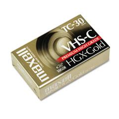 Maxell High Grade VHS-C Videotape Cassette, 30 Minutes