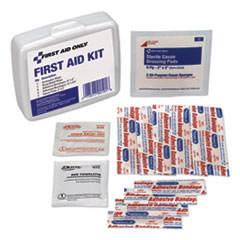 PhysiciansCare® by First Aid Only® KIT FIRST AID MINI WHT First Aid On The Go Kit, Mini, 13 Pieces-kit