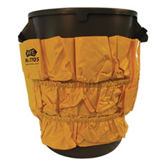 Impact® CADDY 32-44 GAL CONTAINRS GATOR CADDY VINYL YELLOW BAG, 9 POCKETS, 20W X 20.5H, YELLOW