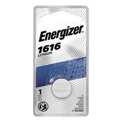 Energizer® BATTERY WATCH 3V 1616 1616 LITHIUM COIN BATTERY, 3V