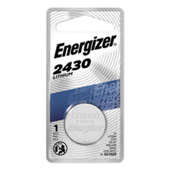 Energizer® BATTERY 3V WATCH & ELEC 2430 LITHIUM COIN BATTERY, 3V