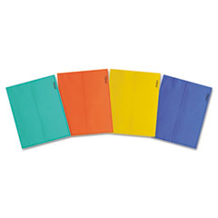 Mead Brite Wallet, 9 1/2 x 11 7/8, Two Inch Expansion, Assorted