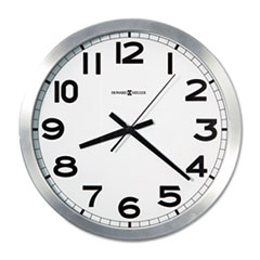 Howard Miller Round Wall Clock, 15-3/4in