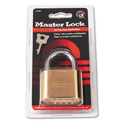 Master Lock Resettable Combination Padlock, 2