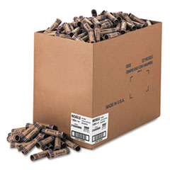 MMF Industries Preformed Tubular Coin Wrappers, Nickels, $2, 1000 Wrappers/Box