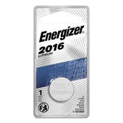 Energizer® BATTERY LITH 2016 3V 2016 LITHIUM COIN BATTERY, 3V