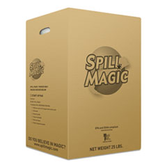 Spill Magic™ SORBENTS SPILL MAGIC POWD SORBENT, 25 LBS