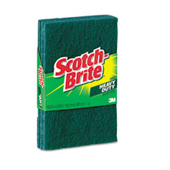 Scotch-Brite Heavy-Duty Scour Pad, 3.8