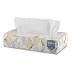 Kleenex® TISSUE FACIAL125SHTS 2PLY WHITE FACIAL TISSUE, 2-PLY, WHITE, POP-UP BOX, 125 SHEETS-BOX