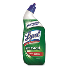 LYSOL® Brand CLEANER TOILET BLEACH DISINFECTANT TOILET BOWL CLEANER WITH BLEACH, 24 OZ