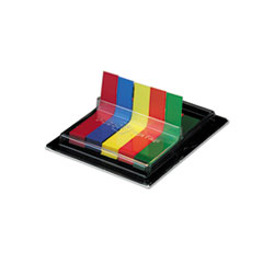 Post-it Flags Flags in Dispenser, Five Colors, 75/Color, 375 Flags/Pack