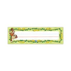 Carson-Dellosa Education-NAMEPLATE,MONKEYS,36/ST