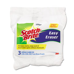 Scotch-Brite Erasing Pad, Blue, 3/Pack