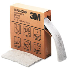 3M Sorbent, High-Capacity, Folded Maintenance, 10 1/2 Gallon Capacity