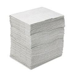 3M Sorbent Pads, High-Capacity, Maintenance, 37.5gal Capacity, 100/Carton