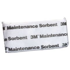 3M Maintenance Sorbent Pillow, 1/2 Gallon Sorbing Volume Each, 16/Carton