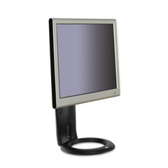 3M Easy-Adjust LCD Monitor Stand, 8 1/2 x 5 1/2 x 16, Black