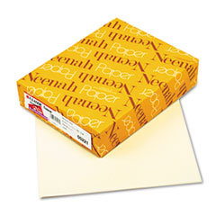 Neenah Paper Classic Linen Stationery Writing Paper, 24lb, 8-1/2 x 11, Baronial Ivory, 500/Rm
