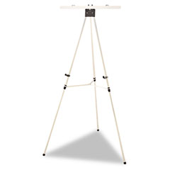 AbilityOne 7520014567876 Display Easel Tripod, Aluminum, Adjustable