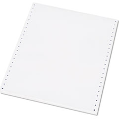 AbilityOne 7530008000996 Computer Paper, 92 Bright, 20#, 9-1/2 x 11, White, 2500 Sheets/Box