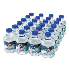Office Snax Bottled Spring Water, 8oz, 24/Carton