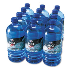 Office Snax Bottled Spring Water, 1000mL, 12/Carton