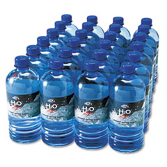 Office Snax Bottled Spring Water, 20 oz., 24 Bottles/Carton