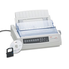 Oki ML320 Nine-Pin Narrow Dot Matrix Printer