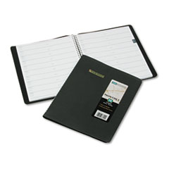 AT-A-GLANCE Recycled Monthly Planner, Black, 8