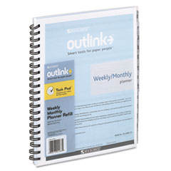 AT-A-GLANCE Outlink Outlink Weekly/Monthly Refill, 8 1/2