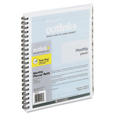 AT-A-GLANCE Outlink Outlink Monthly Planner Dated Refill, 8-1/2 x 11, 2013