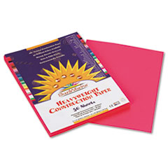 SunWorks Construction Paper, 58 lbs., 9 x 12, Hot Pink, 50 Sheets/Pack
