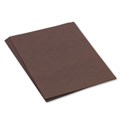 Pacon Tru-Ray Construction Paper, 76 lbs., 18 x 24, Dark Brown, 50 Sheets/Pack