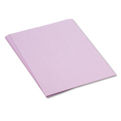 Pacon Tru-Ray Construction Paper, 76 lbs., 18 x 24, Lilac, 50 Sheets/Pack