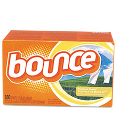 Bounce Fabric Softener Sheets, 160 Sheets/Box, 6 Boxes/Carton