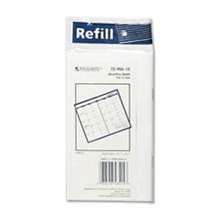 AT-A-GLANCE Recycled Monthly Planner Refill, 3-1/2 x 6-1/8, 2014-2015
