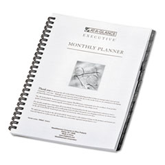 AT-A-GLANCE Executive Executive Recycled Monthly Planner Refill, 6-7/8 x 8-3/4, 2013