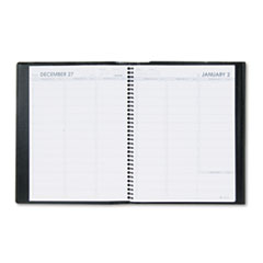 AT-A-GLANCE Plus Weekly Appointment Book, Black, 8 1/4
