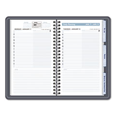 AT-A-GLANCE The Action Planner Daily Appointment Book, 4-3/4 x 8, Black, 2013