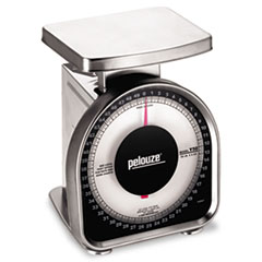DYMO by Pelouze Heavy-Duty Mechanical Package Scale, 50lb Capacity, 6 x 4-3/4 Platform