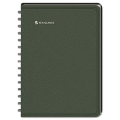 AT-A-GLANCE LifeLinks Recycled Weekly/Monthly Appointment Book, 9-1/2 x 11-3/4, Green, 2014