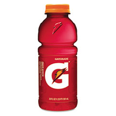 Gatorade Sports Drink, Fruit Punch, 20 oz. Plastic Bottles, 24/Carton