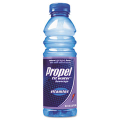 Propel Fitness Water Flavored Water, Grape, Plastic Bottle, 500mL, 24/Carton