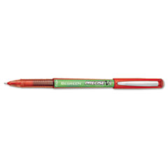 Pilot Precise V5 BeGreen Roller Ball Stick Pen, Red Ink, .5mm, Dozen